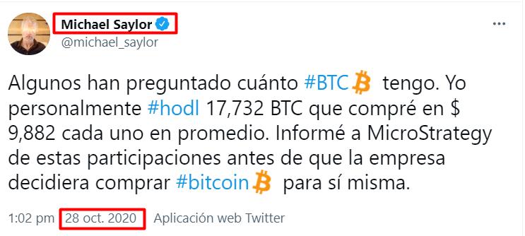 michael saylor fortuna bitcoin