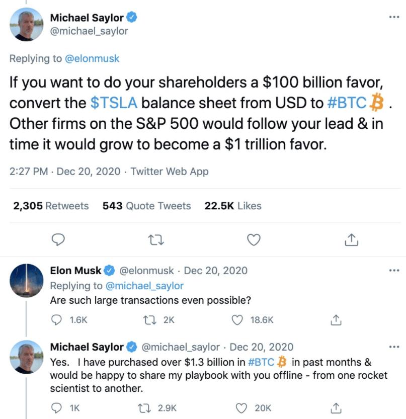 michael saylor y elon musk bitcoin