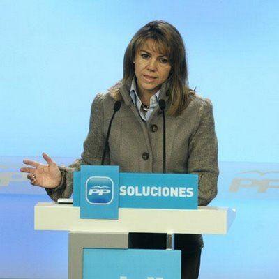 María Dolores de Cospedal.