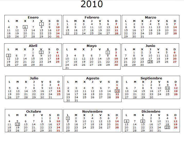 calendario 2011 espaa. entrega de los calendarios