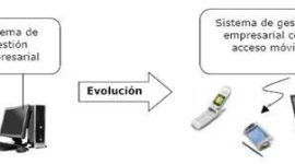 Mobile ERP. Sistemas de gestion empresarial movil